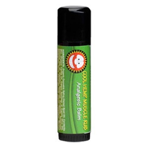 Merry Hempsters® Vegan Cool Hemp Muscle Rub Tube