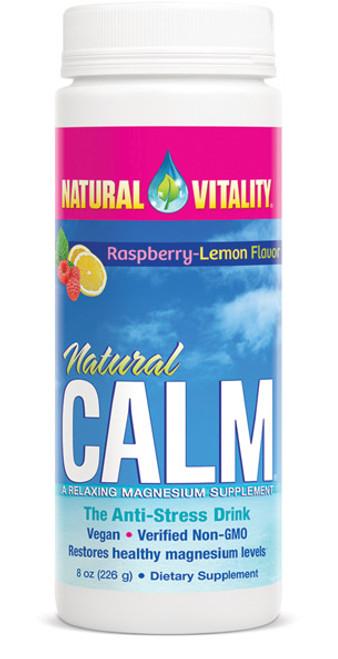 Natural Calm Organic Raspberry Lemon 8oz