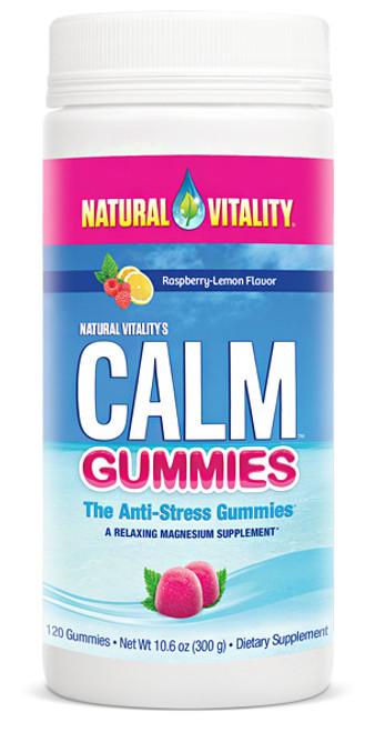 Natural Vitalitys Calm Gummies 120ct