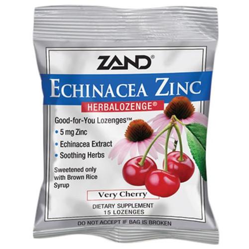 Zand Cherry Echinacea Zinc Lozenges