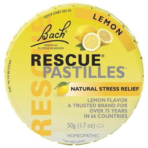 Bach Flower Remedies Lemon Rescue Pastilles 50 grams