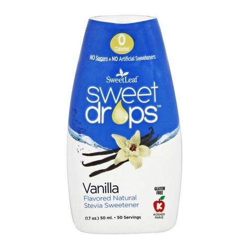 SweetLeaf Vanilla Liquid Stevia Drops 1.7