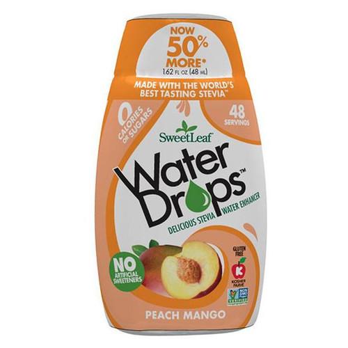 SweetLeaf Peach Mango Water Drops 1.62 fl. oz.