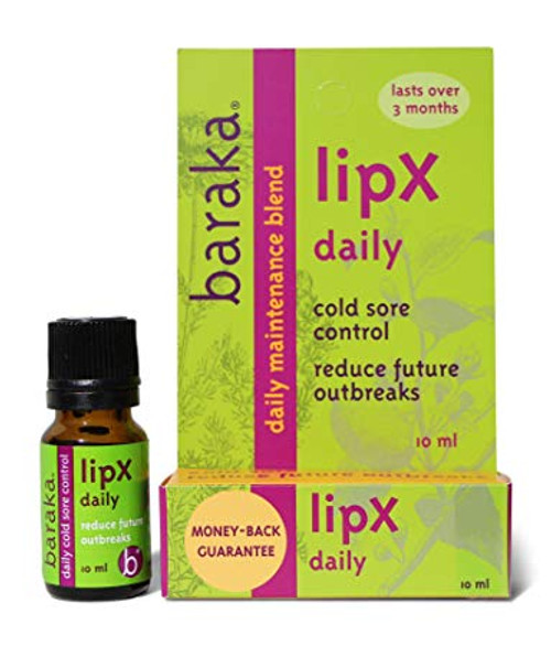 Baraka LipX Daily Cold Sore Control, 10 mL