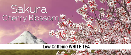 Sakura Cherry Blossom White Tea