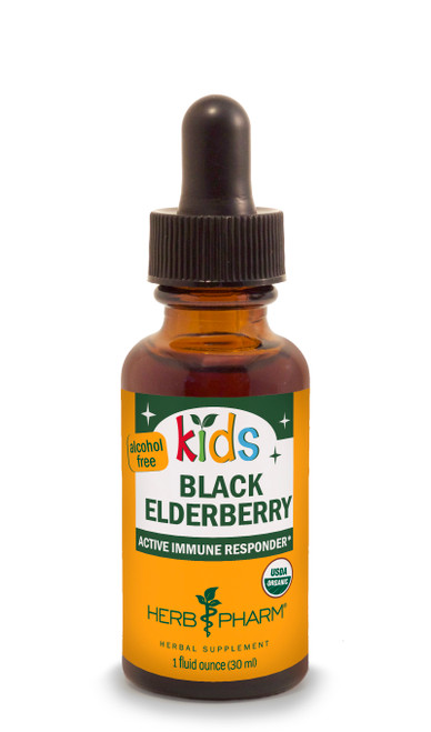 Kids Glycerite: Black Elderberry