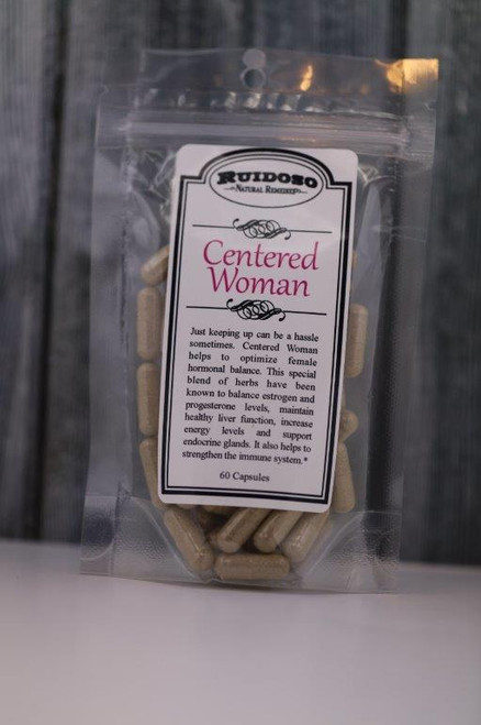Centered Woman Capsules