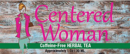 Centered Woman Tea