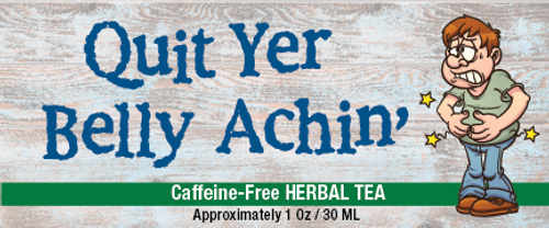 Quit Yer Belly Achin' Tea