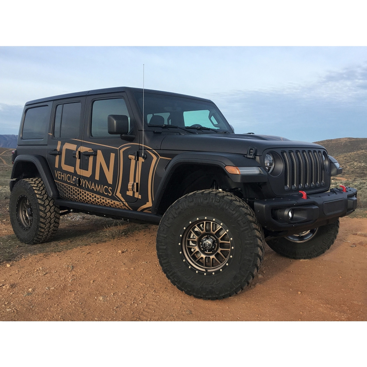 """Icon Dynamics 2.5"""" Stage 1 Suspension System for 18+ Jeep Wrangler JL - K22011"""