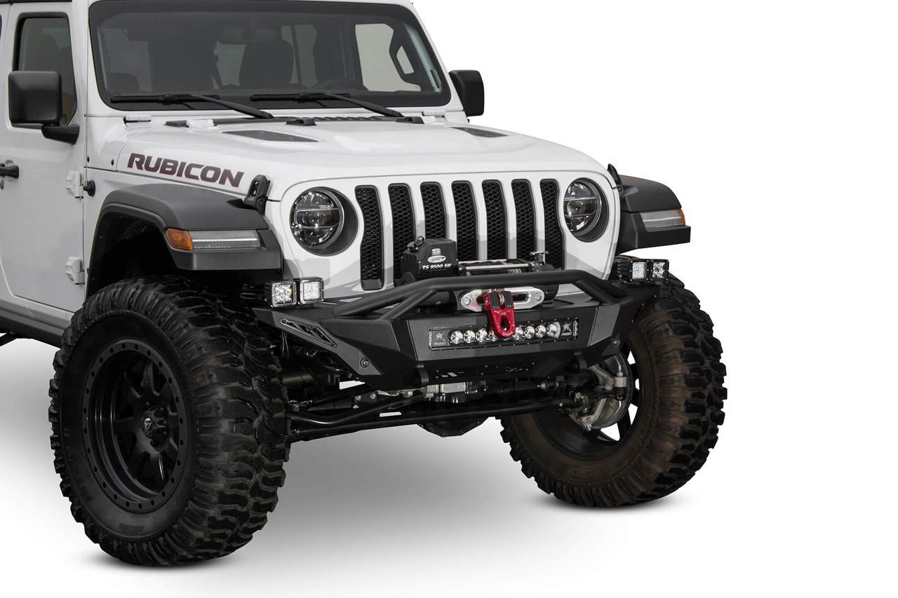 ADD Stealth Fighter Winch Front Bumper For Jeep JL/JT - F961232080103
