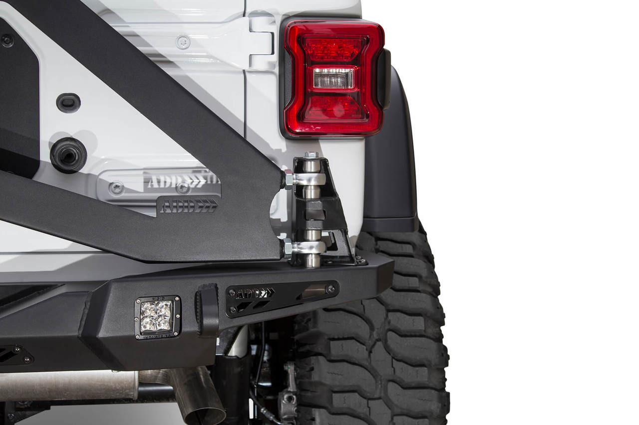 ADD Stealth Fighter Rear Bumper For 18-20 Jeep Wrangler JL - R961121280103