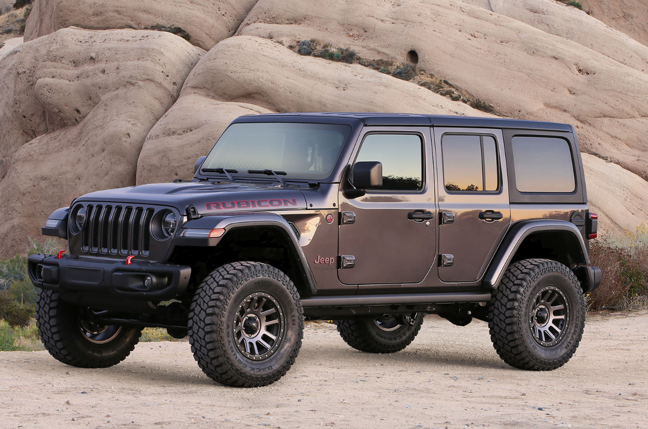 """Fabtech 3"""" Sport Lift Kit W/ Shock Extensions For 18-19 Jeep Wrangler Unlimited JL - K4106"""