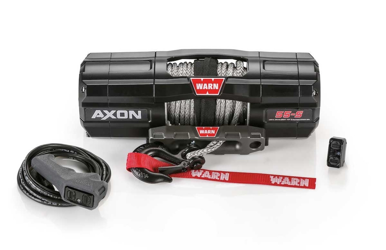 Buy Online Warn 101150 Axon 55 S Synthetic Winch Recovery Winches Rd 1000 Ac Motor Wiring Diagram