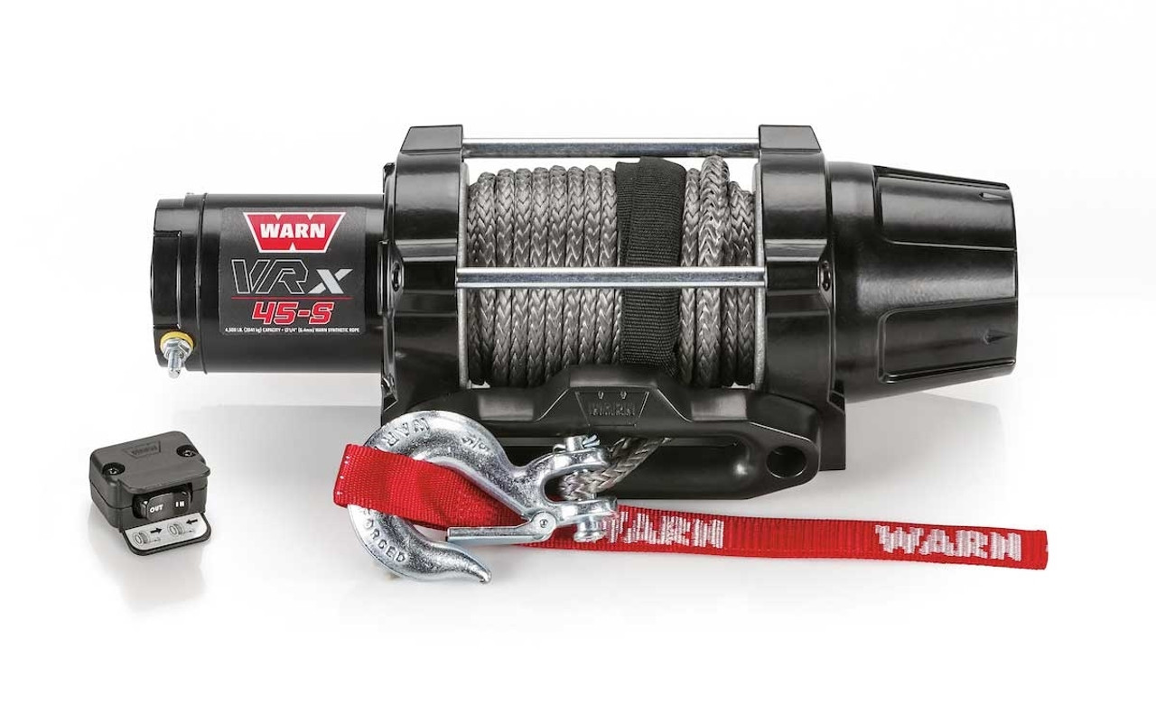 Warn VRX 45-S Synthetic Rope Power Sport Winch - 101040