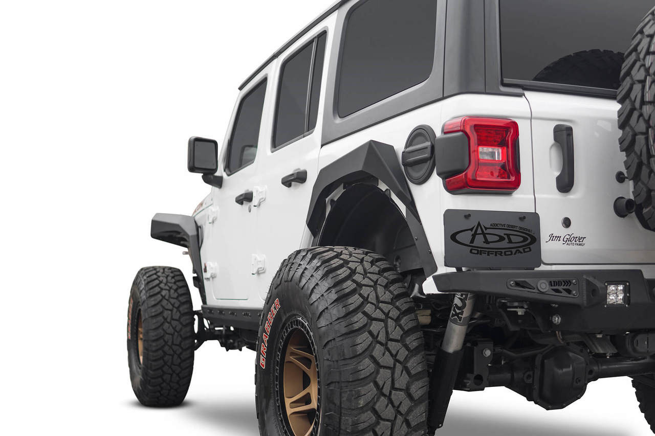 ADD Rock Fighter Rear Fenders For Jeep Wrangler JL - D96164801NA