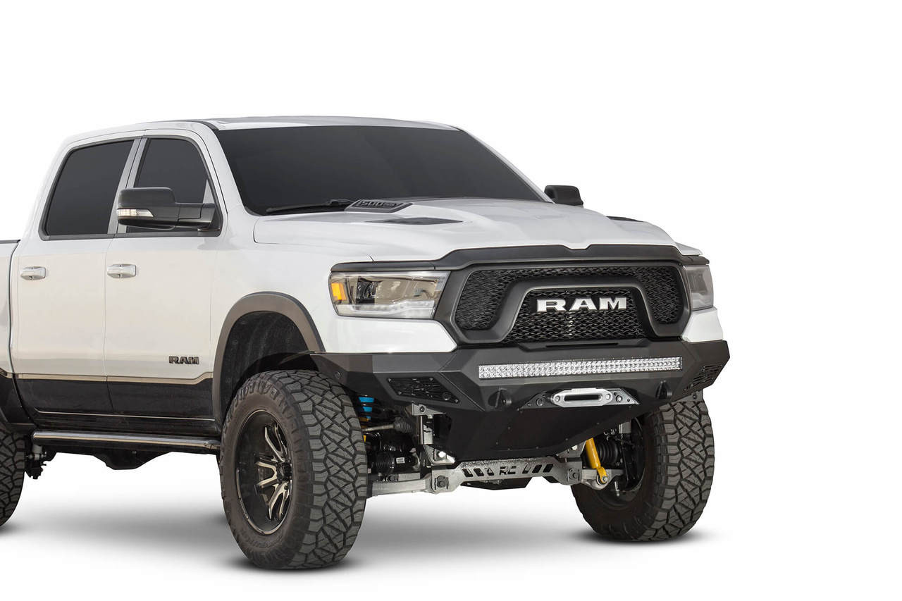 ADD Stealth Fighter Winch Front Bumper W/ Sensors For 19-20 Ram Rebel - F611422770103