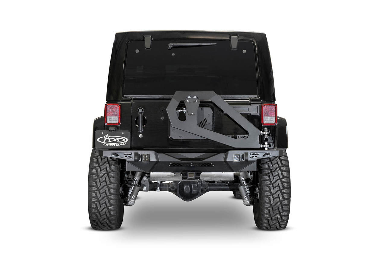 ADD Stealth Fighter Tire Carrier for 07-18 Jeep Wrangler JK - T95914NA01NA