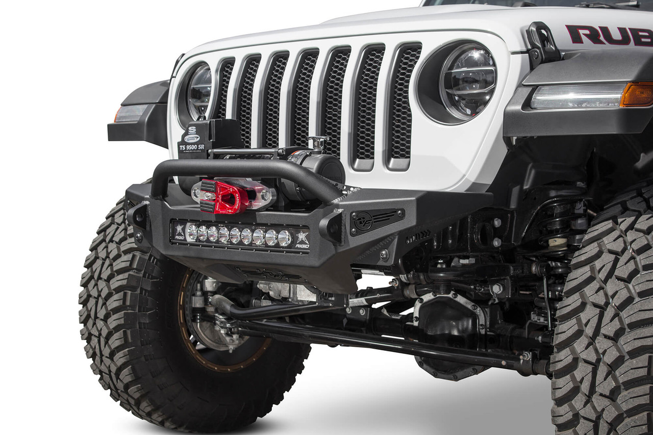 ADD Rock Fighter Winch Front Bumper For Jeep JL/JT - F964902080103