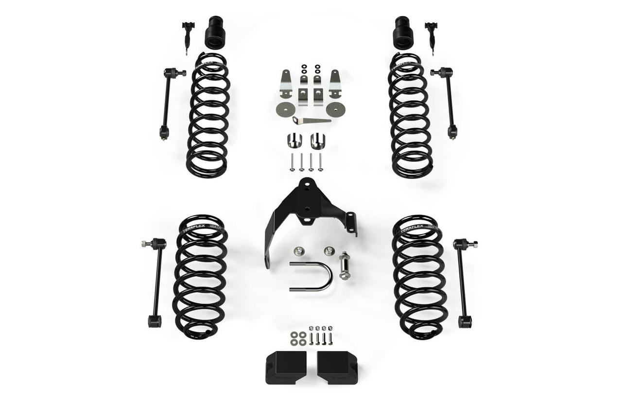"""TeraFlex 3"""" Base Lift Kit W/Out Shocks For 07-18 Jeep Wrangler JK 4 Doors - 1151200"""