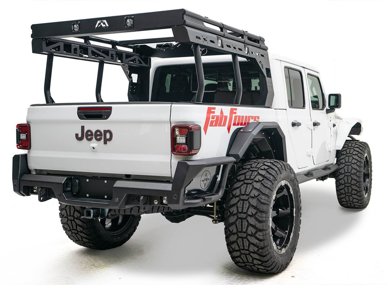 Fab Fours Rear Bumper For 2020 Jeep Gladiator - JT20-Y1950-1