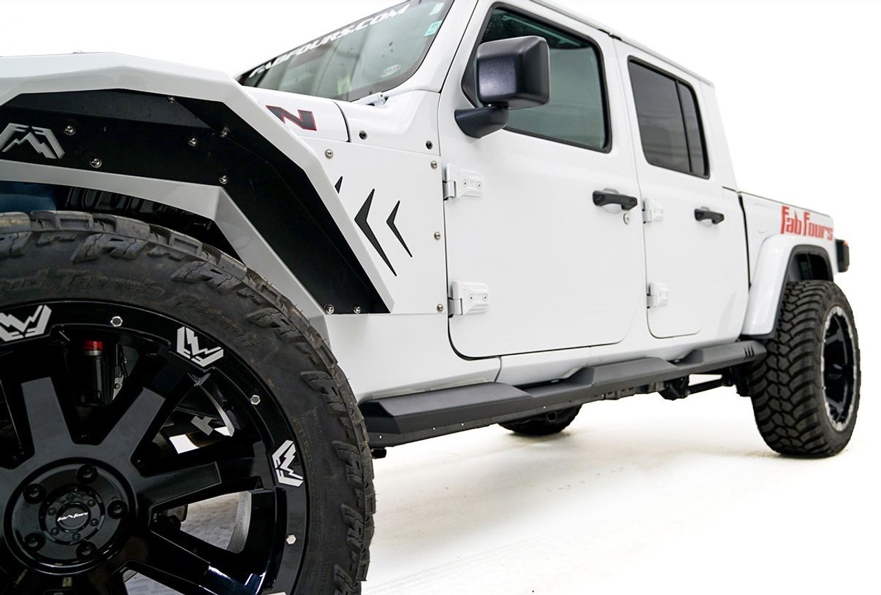 Fab Fours Rock Sliders For 2020 Jeep Gladiator - JT20-G1650-1