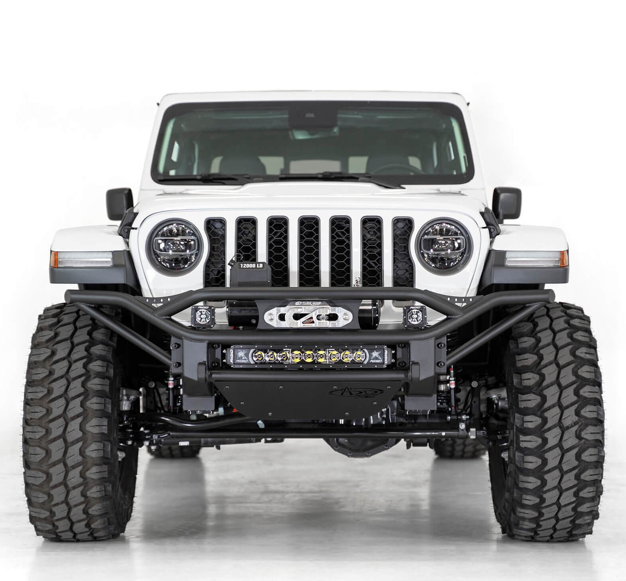 ADD Pro Bolt-On Front Bumper For Jeep Wrangler JL/Jeep Gladiator JT - F978122130103