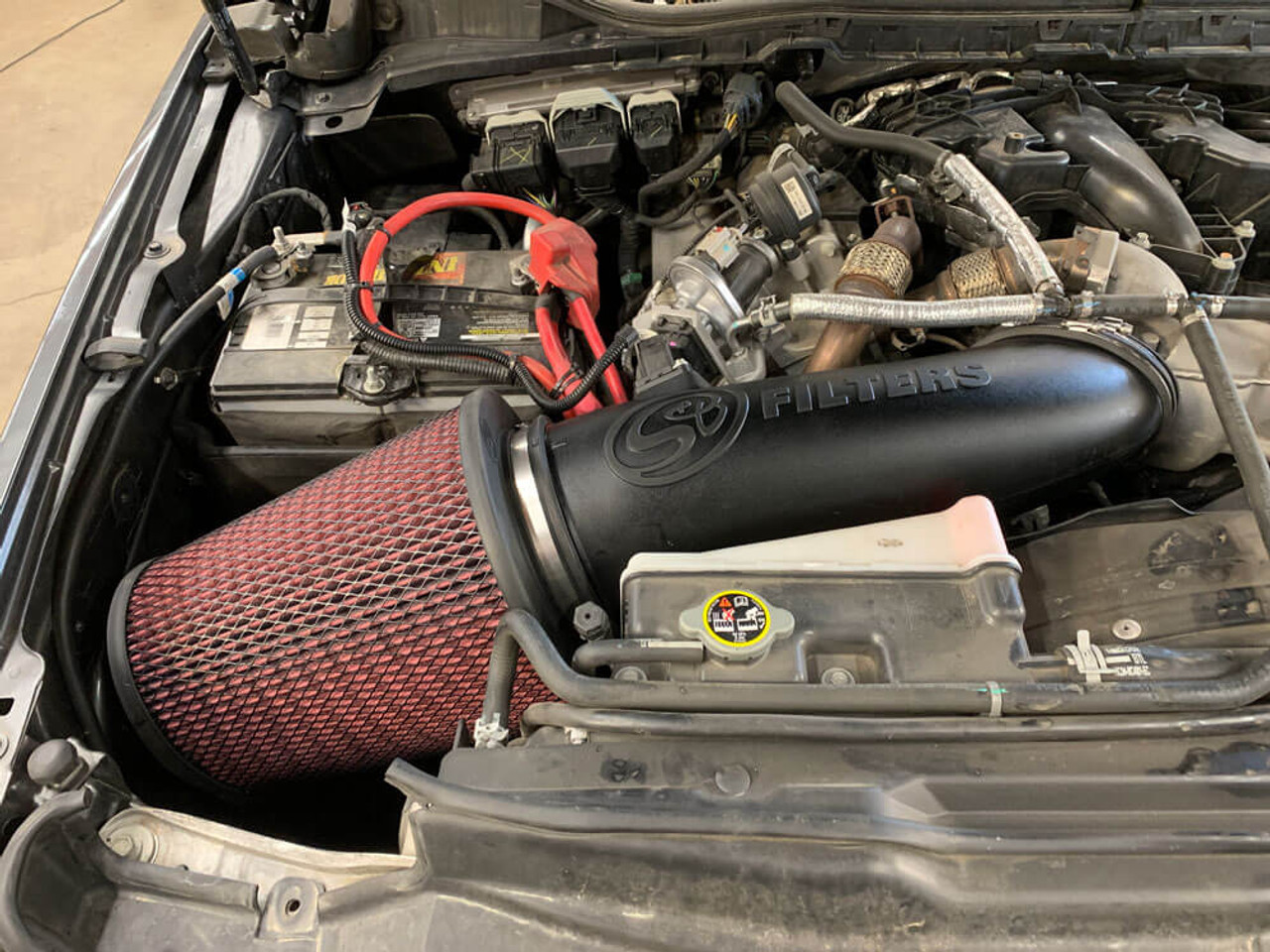 S&B 75-75-6001 Cold Air Intake For 17-19 Ford Powerstroke 6.7L