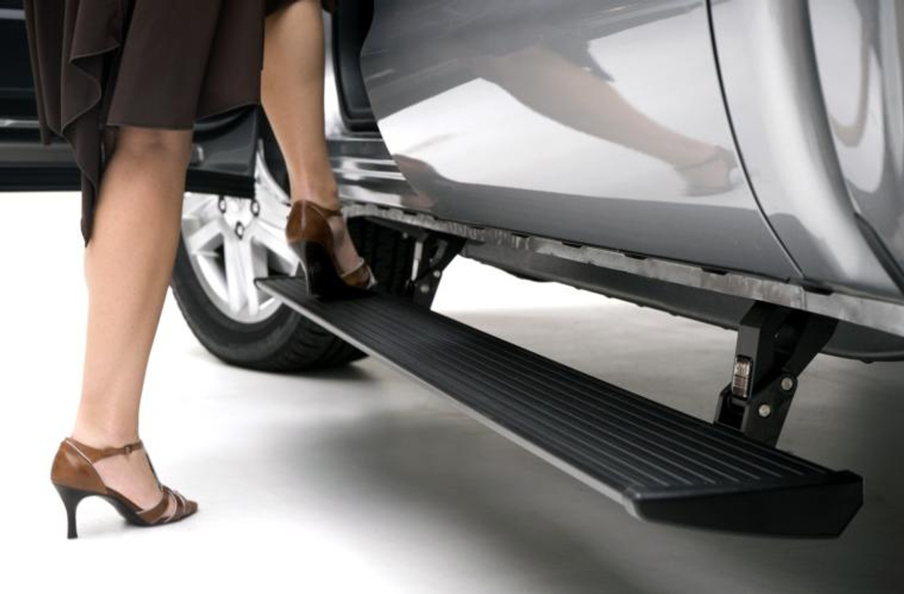 AMP Research PowerStep Running Boards For 08-16 Ford Super Duty - 76134-01A