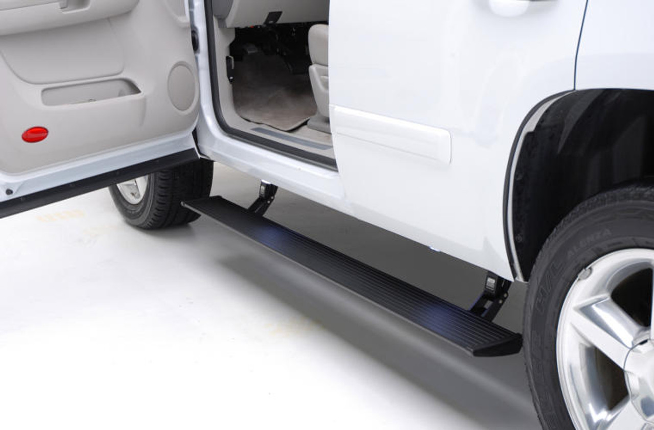 AMP Research PowerStep Running Boards For 14-18 GMC Sierra 1500 - 76154-01A