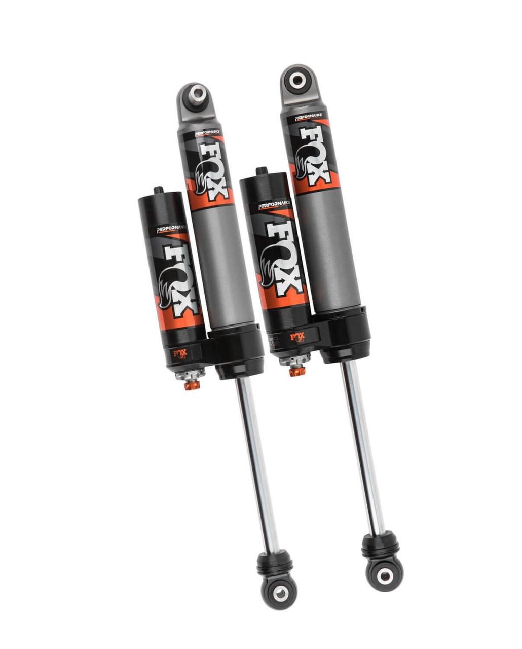 """Fox 2.5 Rear Reservoir Adjustable Shocks 3.5-4"""" For Jeep Wrangler JL - 883-26-055"""