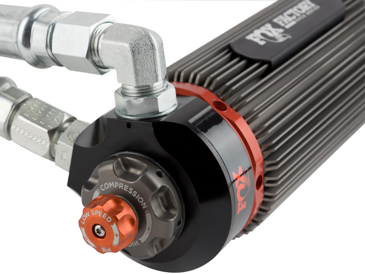 """Fox 3.0 Front Reservoir Adjustable Shocks 2-3"""" For Jeep Wrangler JL - 883-26-057"""