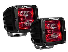 Rigid Industries 20202 Radiance Pod Red Backlight LED Lights