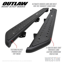 Westin Outlaw Nerf Step Bars For Jeep Gladiator - 58-54165