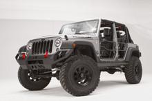Fab Fours Vengeance Front Bumper For 07-18 Jeep Wrangler JK - JK07-D1851-1