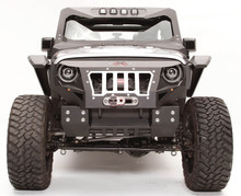 Fab Fours Grumper Stubby Crash Bar Cover For 07-18 Jeep Wrangler JK - GR1005-1