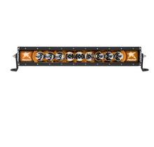 "Rigid Radiance 20"" LED Light Bar With Amber Backlight"