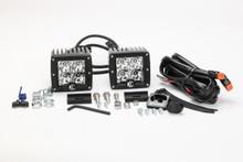 """KC HiLiTES 3"""" C-Series C3 LED Lights Pack System 330 (Spot)"""