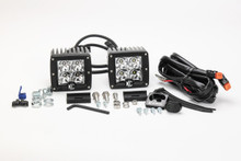 "KC HiLiTES 3"" C-Series C3 Spot LED Lights Pair Pack System - 330"