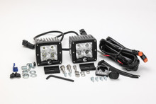"KC HiLiTES 3"" C-Series C3 LED Lights Pack System 332 (Food)"