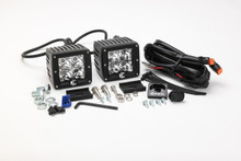 "KC HiLiTES 3"" C-Series C3 LED Lights Pack System 315 (Amber Spot)"