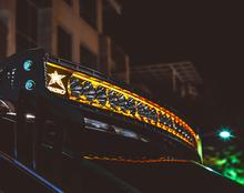 "Rigid Industries 32004 Radiance Plus Curved 20"" Amber Backlight LED Light Bar"