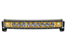"""Rigid Radiance Plus Curved 20"""" LED Light Bar With Amber Backlight - 32004"""