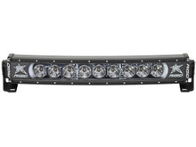 """Rigid Radiance Plus Curved 20"""" LED Light Bar With White Backlight - 32000"""