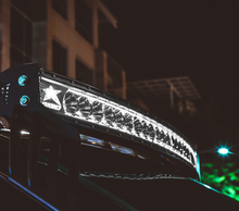 """Rigid Radiance Plus Curved 30"""" LED Light Bar With White Backlight - 33000"""
