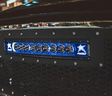 "Rigid Radiance Plus Curved 40"" LED Light Bar With Blue Backlight - 34001"