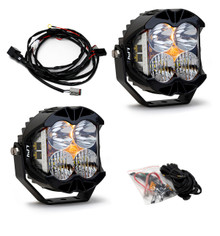 Baja Designs LP4 Pro White Driving Combo Pair Round LED Light - 297803