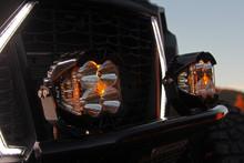 Baja Designs 297803 LP4 Pro White Driving Combo Pair Round LED Light