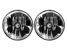 """KC HiLiTES 42351 Gravity® Led 7"""" Headlight Dot For 07-18 Jeep Wrangler JK (Pair)"""