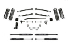 """Fabtech 5"""" Trail System With Stealth Shocks For Jeep Wrangler Unlimited JL - K4140M"""